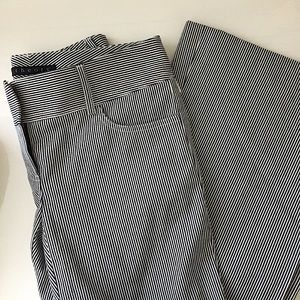 THEORY Flare Trouser Pants
